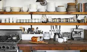 wooden shelving that adds rustic appeal care2 healthy living