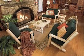 Log Style Sofa Rustic Cedar This Living Room