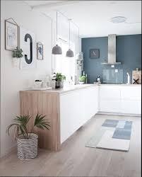 cuisine blanc et bois cuisine bois et blanc laqu great affordable table cuisine bois et