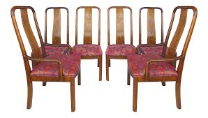 Bernhardt Tall Back Dining Chairs - Set Of 6 Jet Set Ding Room Items Bernhardt Santa Bbara Includes Table And 4 Side Chairs By At Morris Home 78 Off Embassy Row Cherry Carved Wood Haven Chair Each 80 Gray Deco All Montebella 9 Piece Baers Design Couch Sale Interiors Keeley Of 2
