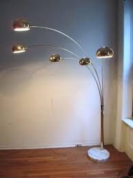 Threshold Arc Floor Lamp by Impressive Pair Of Brass Italian Arc Floor Lamps Red Modern