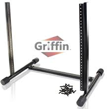 100 Griffin Ibeam Rack Mount Stand With 10 Spaces By Music Studio Recording Equipment Mixer Standing Case RackMount Audio Network Server Gear For DJs Stage