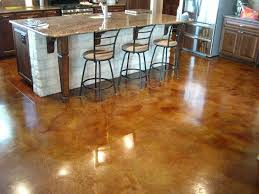 Preparing Concrete Subfloor For Tile by Prepare Stain And Seal Any Concrete Floor In Six Easy Steps