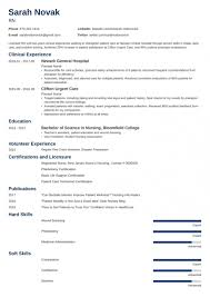 Nursing Student Resume Sample & Guide For New Rn Grads [+ ...