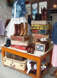 Antique Store Display Ideas