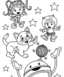 Umizoomi Coloring Pages Online Team Games Free Printable