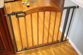 Baby Gates Round Up • The Wise Baby Amazoncom Summer Infant Deluxe Stairway Simple To Secure Wood Gate For Top Of Stairs With Banister The 6 Baby Gates Regalo Extra Tall 2754 With Swing Door Ideas Mounting Hdware All The Best Multiuse Walkthru Of Metal Sure Customfit 9198 Toddler Multi Use Walk Thru White Youtube 33 In And Stair Dual Deco