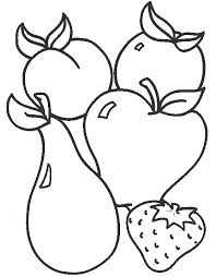 Toddler Color Pages For Sunday School Tags Free Pictures Apple Coloring Page