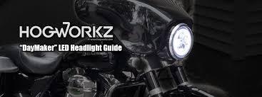 harley daymaker led headlight guide