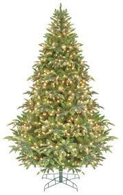 75 Green Pre Lit Instant Power Cascade IPT Christmas Tree
