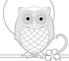 Coloring For Kids Owl Pages To Print Fresh In Design Picture Page Another Portion Of 10 Photograph