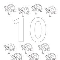 Numbers Coloring Pages