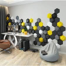 großhandel pu pvc vinyltapeten selbstklebende wandverkleidungsplatten minimalistische tapete geometrische fototafel für 3d tapeten