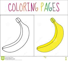 Coloriage Des Bananes Gratuit à Imprimer