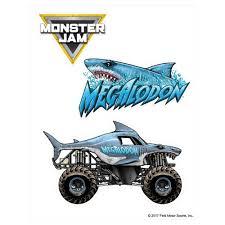 100 Monster Truck Decals Megalodon Decal Pack Jam Stickers Decalcomania