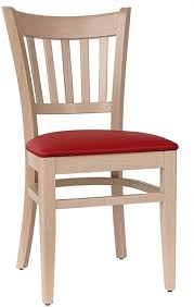 abritus set 2 stühle stuhl esszimmerstuhl buche massiv natur polster rot t002