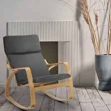 sessel schaukelstuhl im ergonomischen skandinavischen design aalborgb