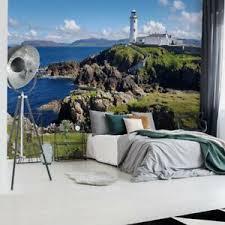 details zu tapete vlies fototapete landschaft rand der welt maritimes leuchtturm meer küste