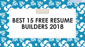 Best 15 Free Resume Builders 2018 By Resumized Com - Issuu 12 Best Online Resume Builders Reviewed Top 10 Free Builder Reviews Jobscan Blog Ten Facts About Invoice And Template Ideas Genius Login Librarian Cover Letter Example Resumegenius 274 Of Resumegeniuscom Sitejabber Sample Recipes And Cover Letters Interviews To How Write A Great Bystep Alfred State Letter Samples Creating The By Next Level Staffing Introduction For Job Sarozrabionetassociatscom With Summary Resumeinterview Advice Summary