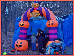 Halloween Blow Up Decorations by Halloween Campsite Decorating Ideas Party Themes Inspiration