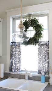 kitchen curtain ideas small windows genwitch