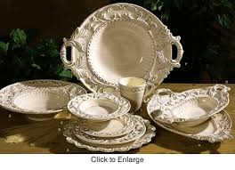 Baroque Cream I Intrada Dinnerware
