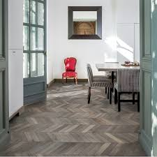 Kahrs Flooring Engineered Hardwood by Kahrs Chevron Oak Dark Brown Oiled Engineered Wood Flooring