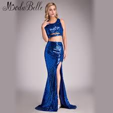 online get cheap sparkly crop top prom dress aliexpress com