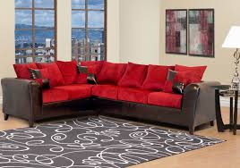 Red Sectional Living Room Ideas by Kaylasfurniture