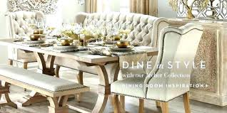 Elegant Dining Table Rooms Room Chairs Scenic
