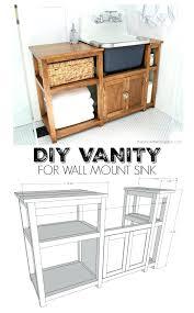 vanities diy vanity sink base diy bathroom sink base diy dresser