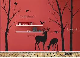 Wall Mural Decals Nature by 81 Best Deer Decor Images On Pinterest Deer Decor Vinyl Wall