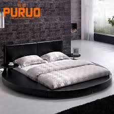 Black Leather Headboard With Diamonds by White Leather Bed White Leather Bed Suppliers And Manufacturers