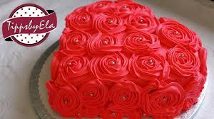 muttertagstorte torte herztorte valentinstag torte sahne torte selber machen anleitung