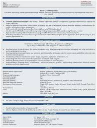 Sample Resume For 2 Years Experienced Java Developer Terrific