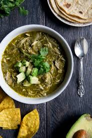 Paleo Pumpkin Chili Slow Cooker by Healthy Slow Cooker Chicken Chile Verde Ambitious Kitchen