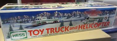 Hess Toy Truck And Helicopter -NEW IN BOX And 50 Similar Items