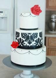 Custom Wedding Cakes 62 Best Cakes Black White Red
