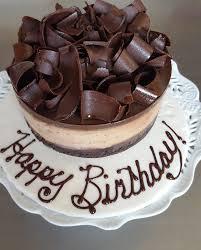 Happy Birthday Chocolate Cake Gluten Free