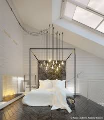 hoher dachschräge dieses master schlafzimmer verfügt über