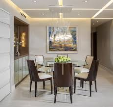 Inspiration For A Mid Sized Contemporary Marble Floor Dining Room Remodel In Miami With Beige Email Save Morantz Custom Cabinetry Inc