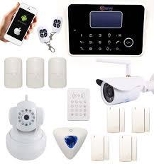 alarme maison sans fil gsm et rtc éras intérieure et