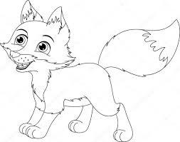 Nieve Canine Tiempo Zorro ártico De Fondo Fox Perro Hielo Imagen De