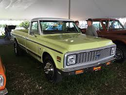 100 1972 Chevy Truck 4x4 Chevrolet K20 34 Ton Values Hagerty Valuation Tool