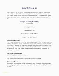 Security Guard Resume Examples Model Example Nmdnconference Download