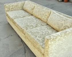 harvey probber replica tuxedo sofa needs reupholstery mid