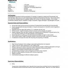 Logisticsanager Job Description Resume Template Logistic Samples Jd Logistics Manager