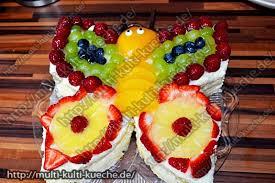 schmetterling käse sahne torte