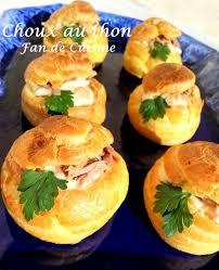 choux au fromage et au thon interessants cuisine