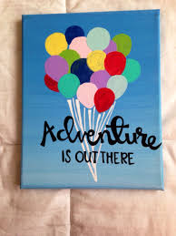 Canvas Quote Adventure Is Out There Disney Pixars By Kismet